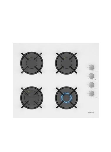 Simfer Beyaz Dijital Ankastre Cam Set (3507 - 9604 - 7340) Renkli